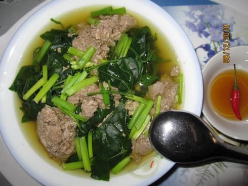 Cua Cua Đồng nấu bồ ngót